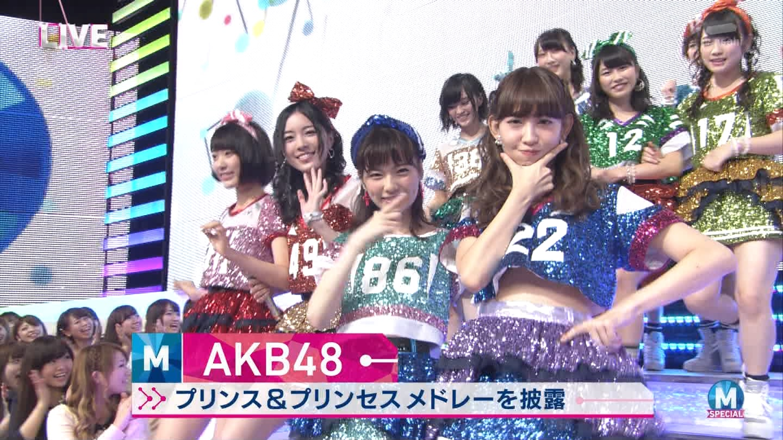 宮脇咲良 AKB48ミュージックステーション Mステ20140926 (4)