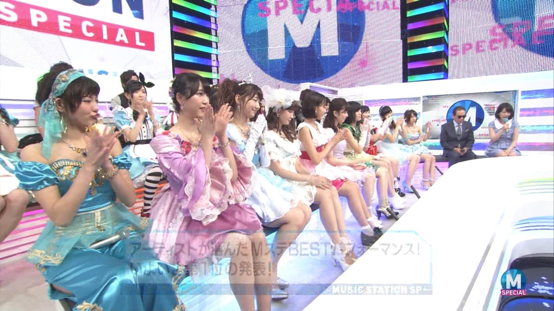 宮脇咲良 AKB48ミュージックステーション Mステ20140926 (87)