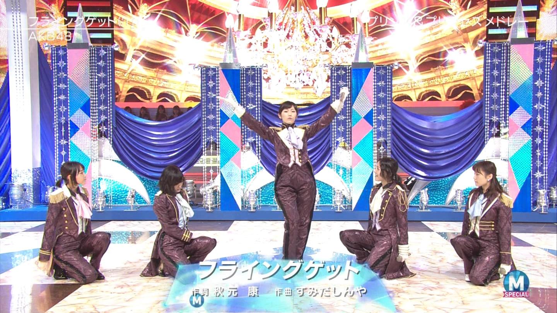 宮脇咲良 AKB48ミュージックステーション Mステ20140926 (55)