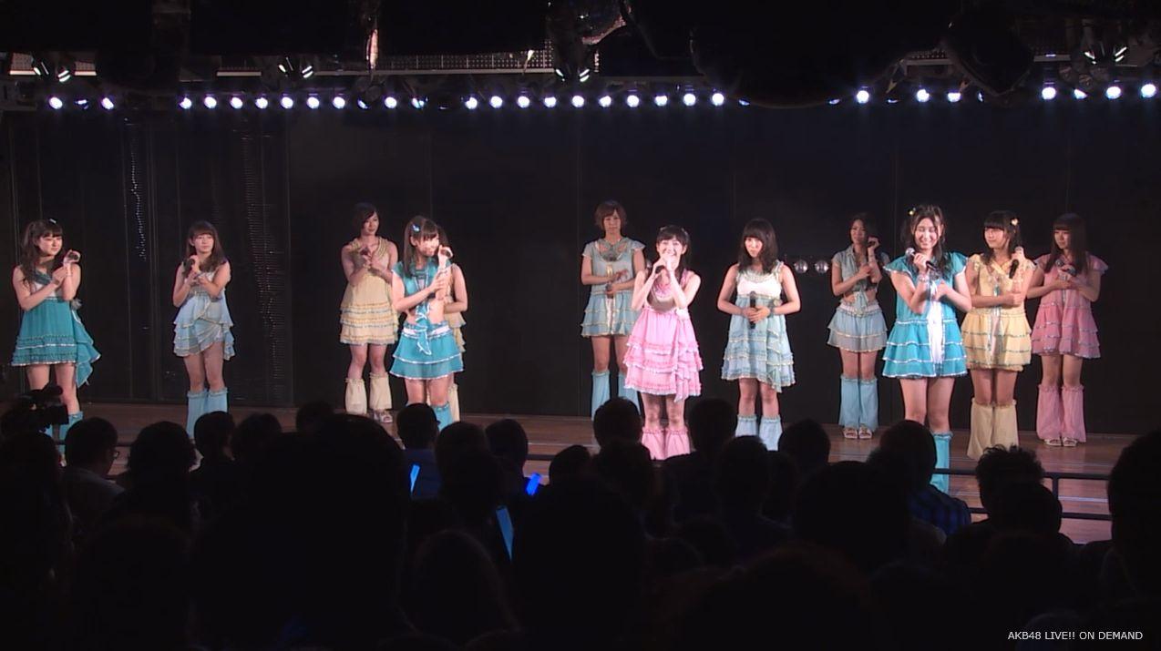 渡辺麻友ツインテール チームB公演 20140905 (9)