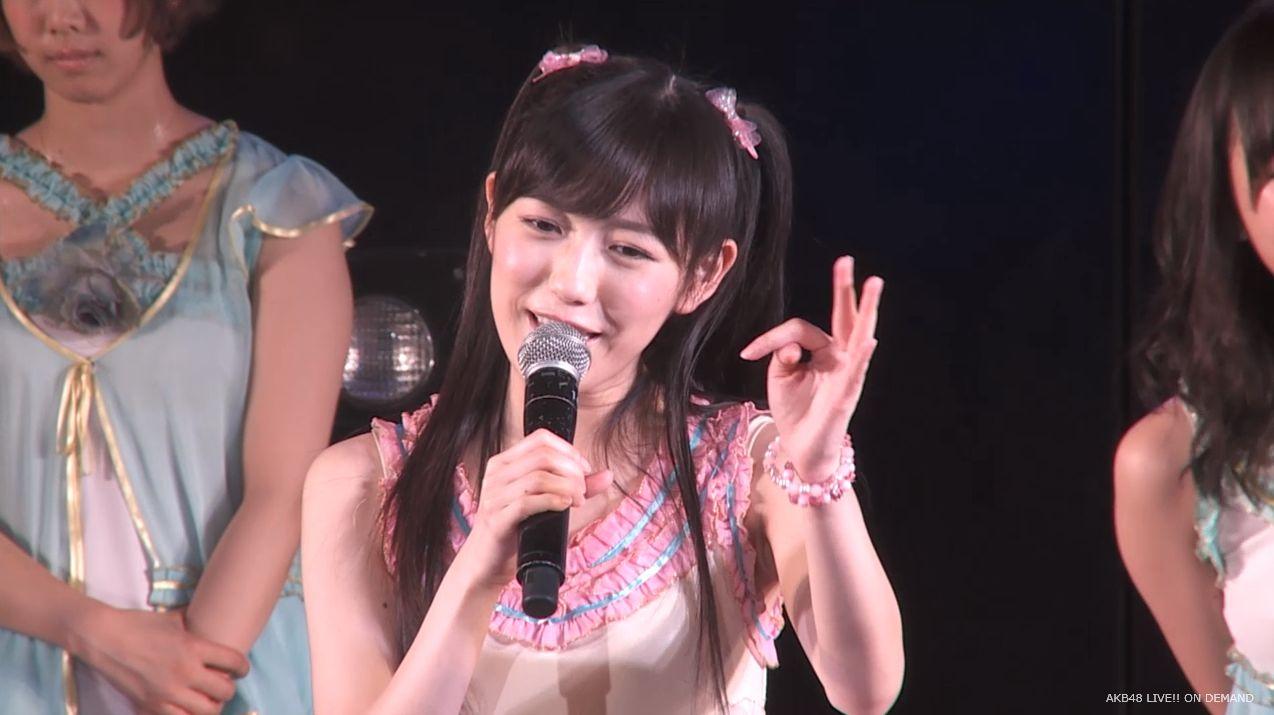 渡辺麻友ツインテール チームB公演 20140905 (50)