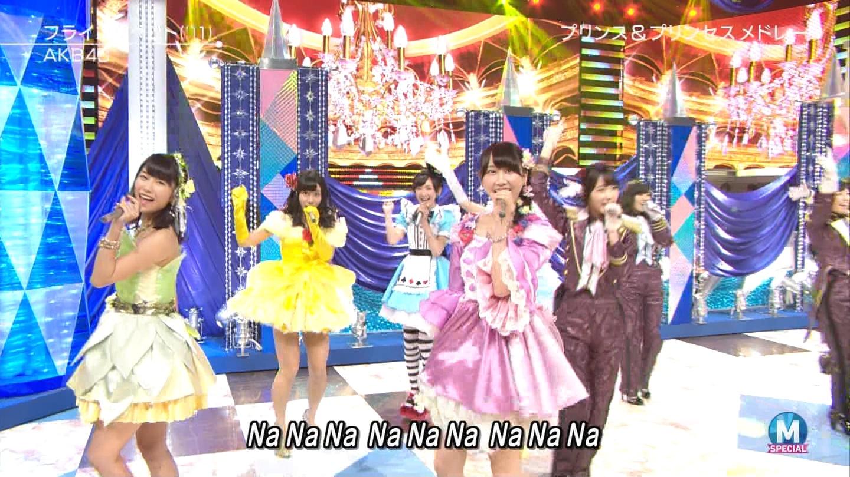 宮脇咲良 AKB48ミュージックステーション Mステ20140926 (57)