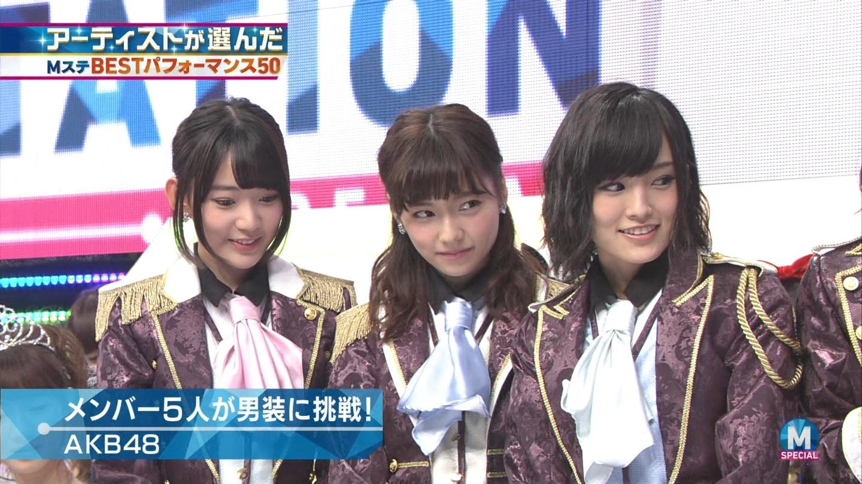 宮脇咲良 AKB48ミュージックステーション Mステ20140926 (23)