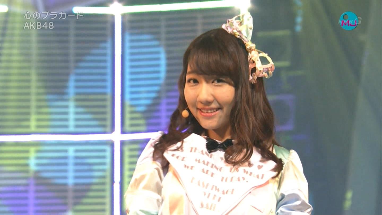 AKB48 心のプラカード MJ 柏木由紀 20140901 (11)