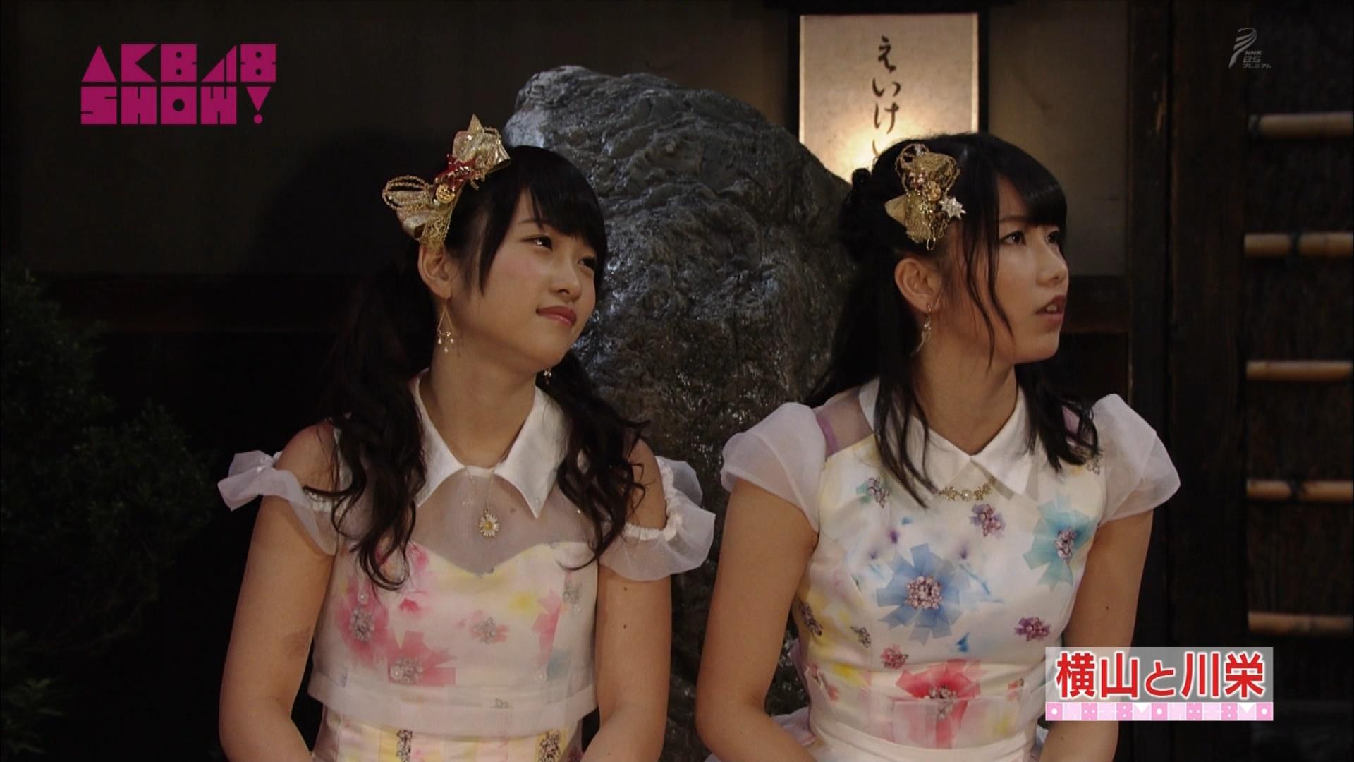 横山由依と川栄李奈 AKB48SHOW! 20140906 (31)