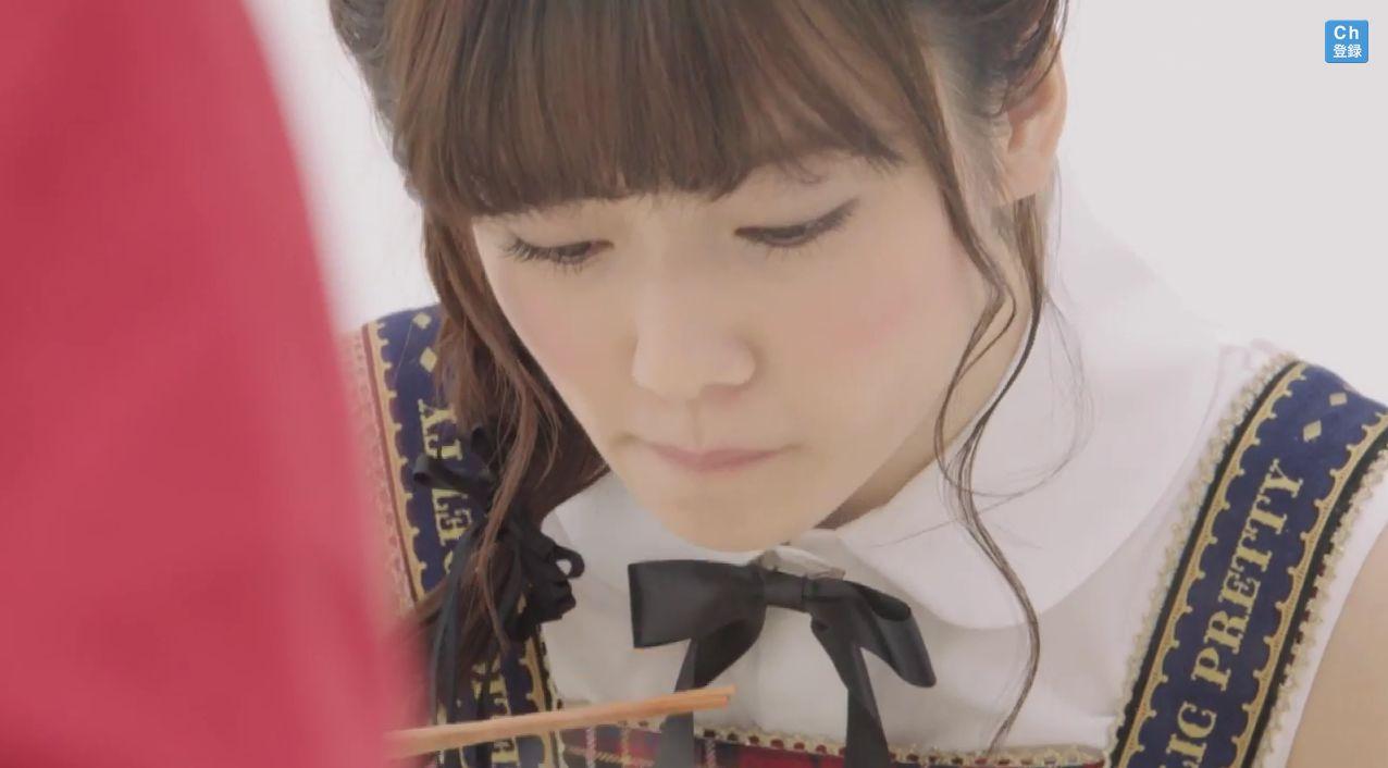 AKB48島崎遥香 マルちゃん正麺 塩味CM (5)