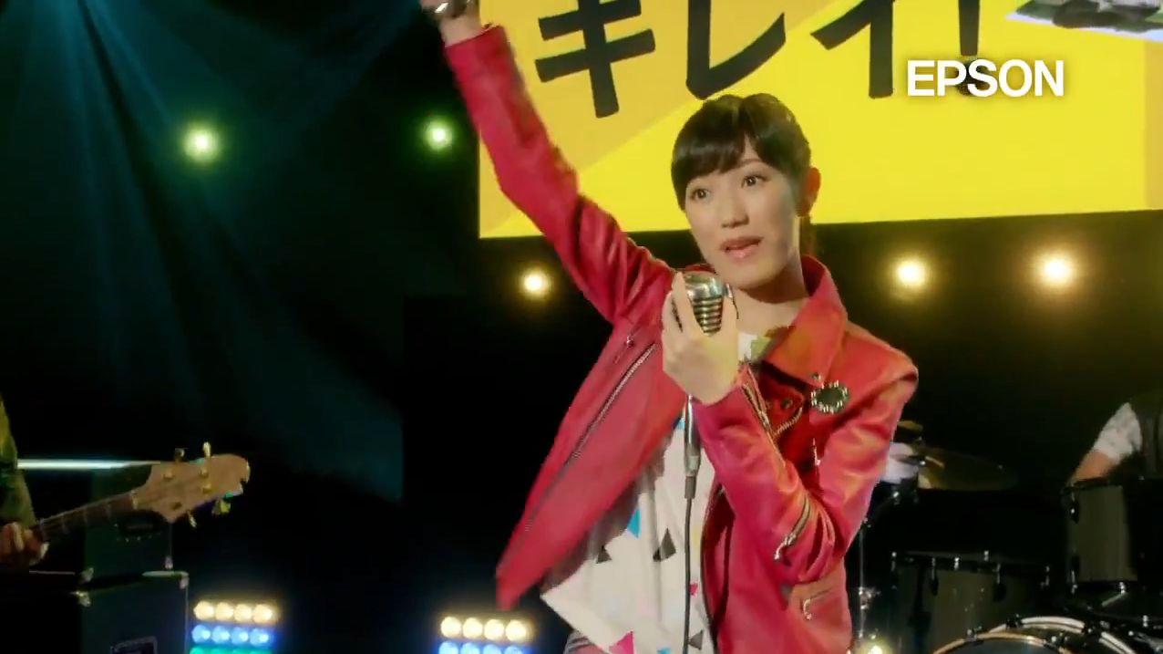 AKB48 渡辺麻友EPSONカラリオCM (12)