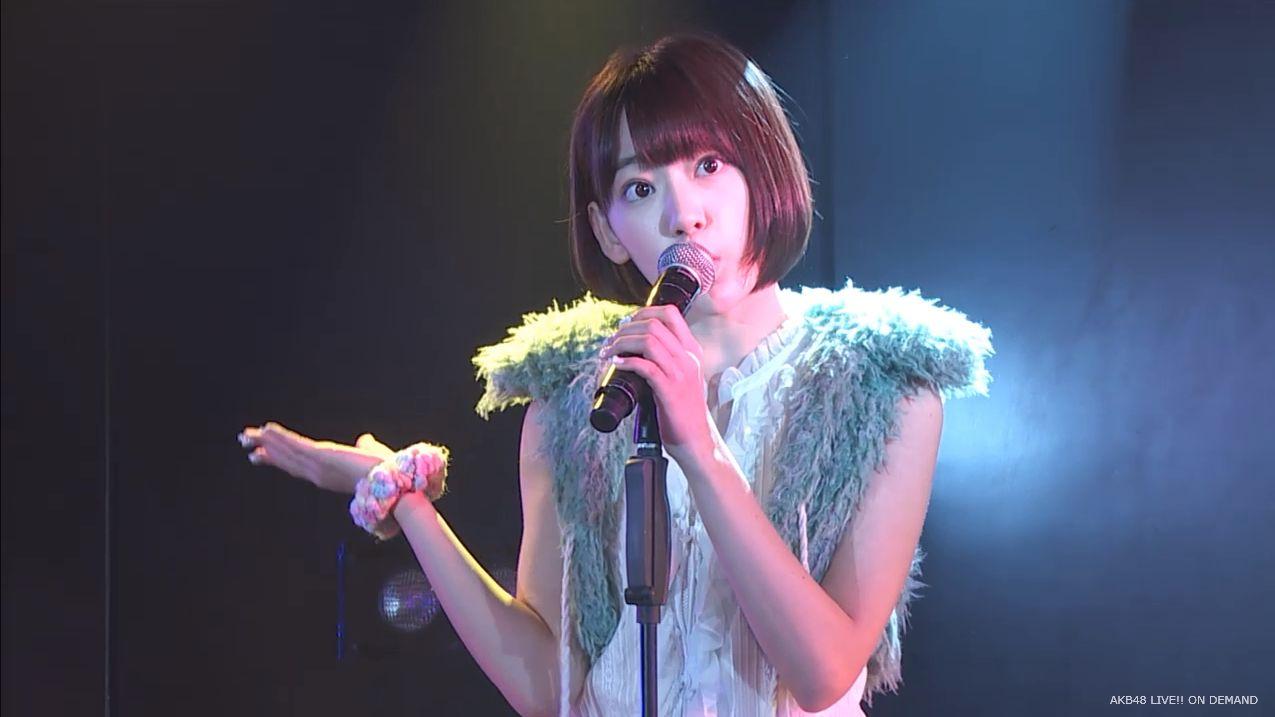 宮脇咲良 ハート型ウィルス AKB48チームA公演20140910 (1)
