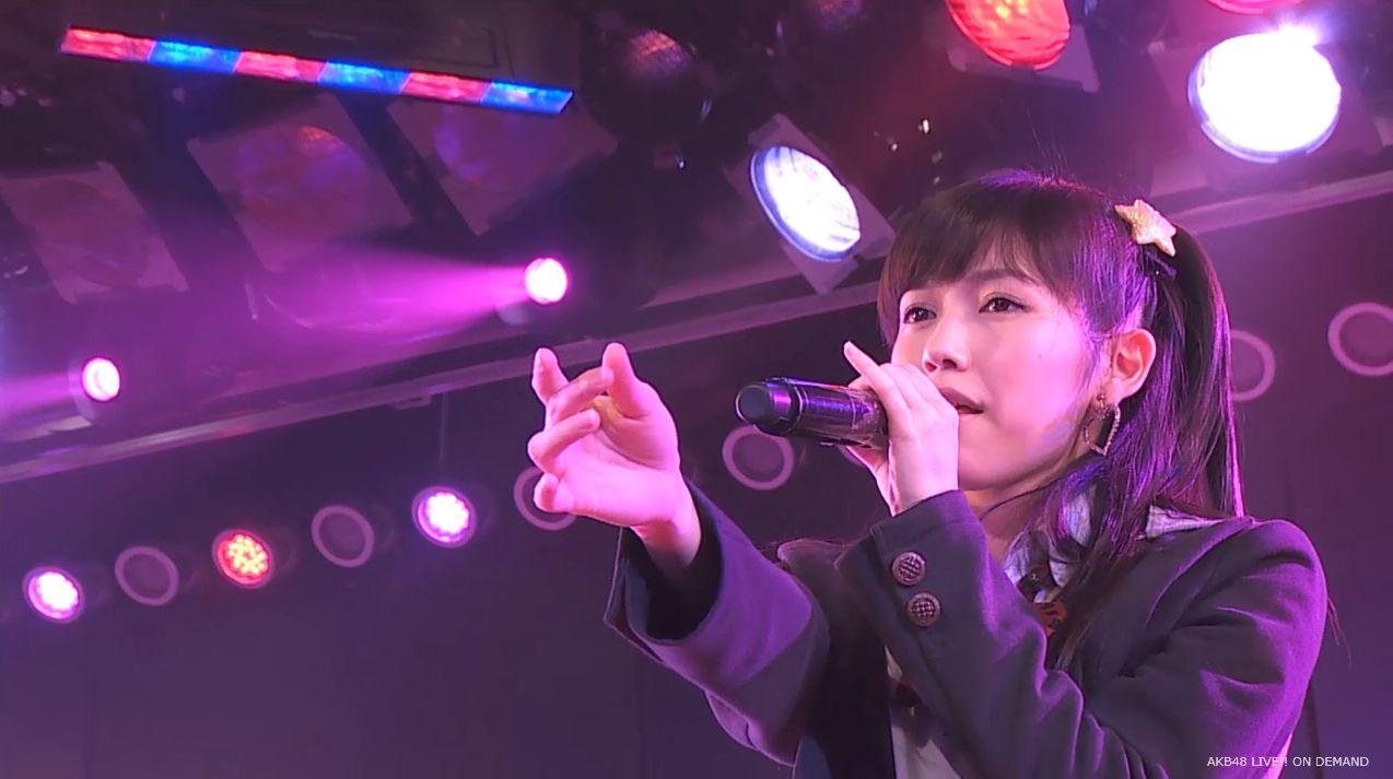 渡辺麻友ツインテール two years later チームB公演 20140905 (21)