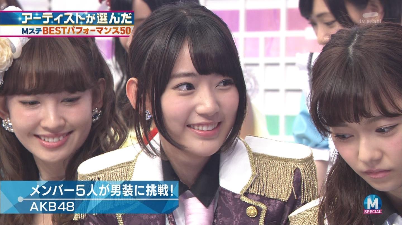 宮脇咲良 AKB48ミュージックステーション Mステ20140926 (30)
