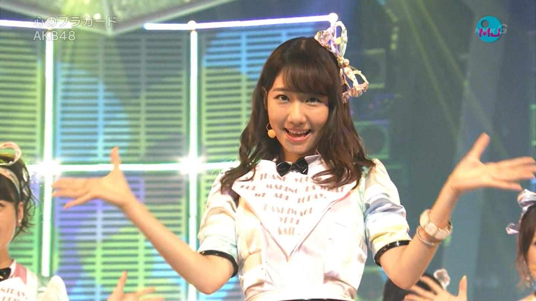 AKB48 心のプラカード MJ 柏木由紀 20140901 (13)