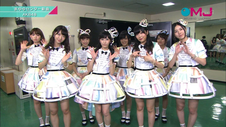 AKB48 心のプラカード MJ 柏木由紀 20140901 (9)