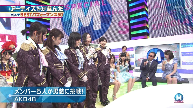 宮脇咲良 AKB48ミュージックステーション Mステ20140926 (21)
