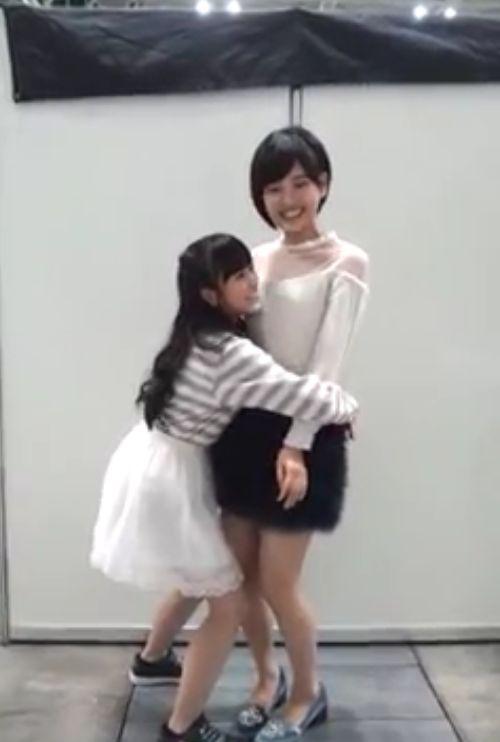 矢吹奈子 兒玉遥 前向き全国握手会 20140923 (1)