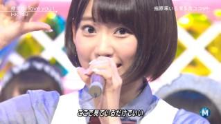 宮脇咲良 ミュージックステーション 控えめI love you 20140905 (57)