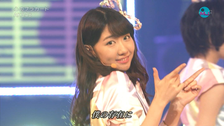 AKB48 心のプラカード MJ 柏木由紀 20140901 (14)