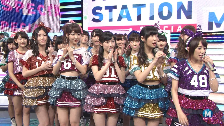 宮脇咲良 AKB48ミュージックステーション Mステ20140926 (5)