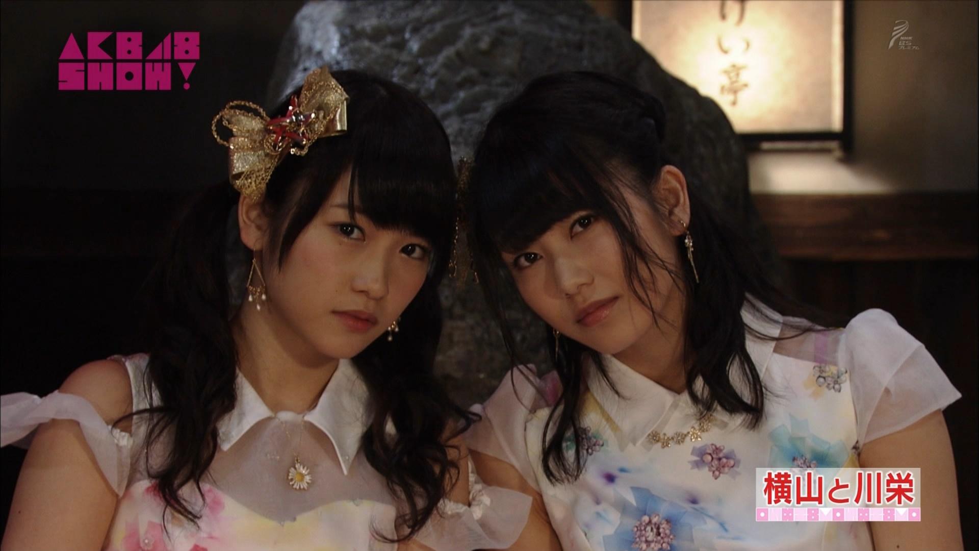 横山由依と川栄李奈 AKB48SHOW! 20140906 (40)
