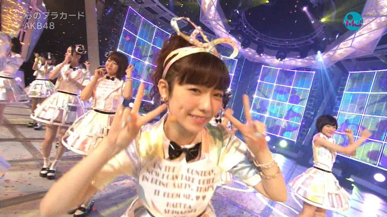 AKB48 心のプラカード MJ 島崎遥香 20140901 (19)