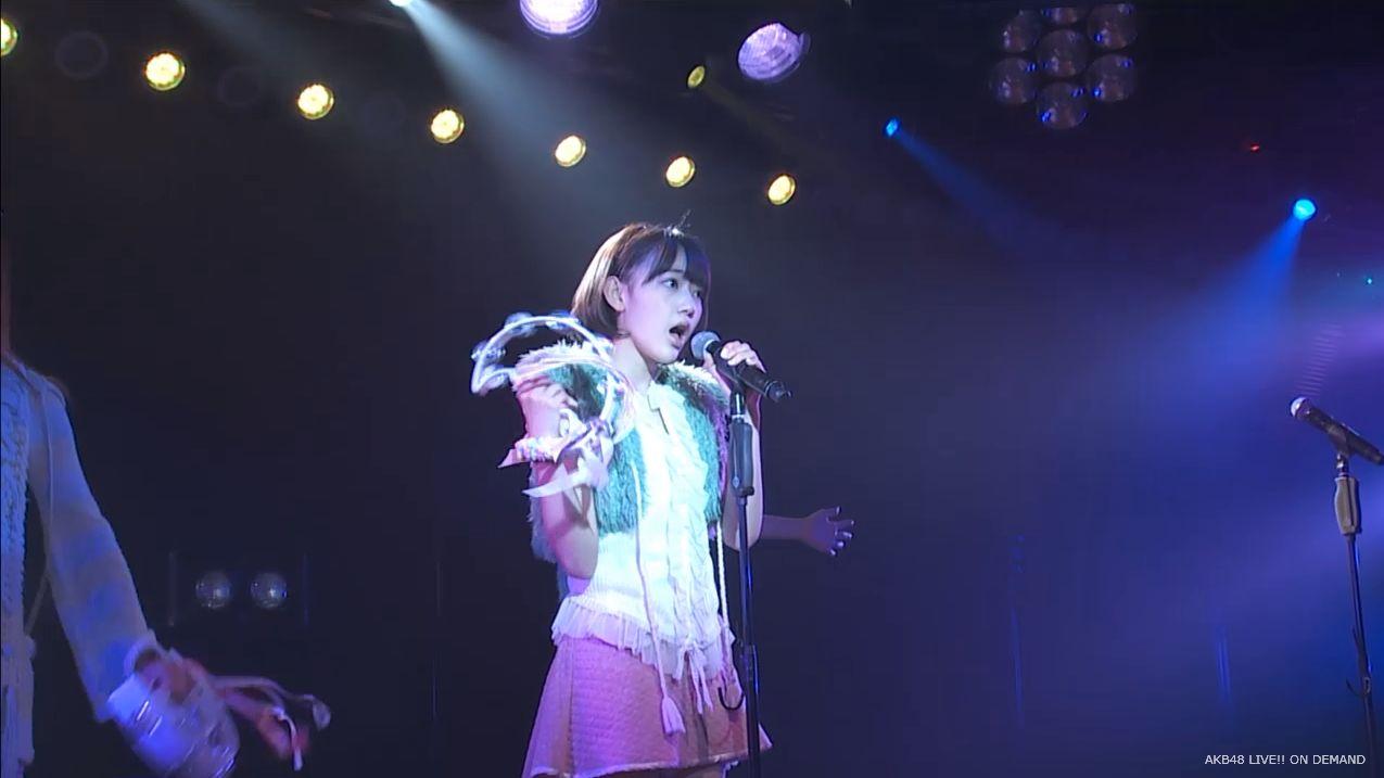 宮脇咲良 ハート型ウィルス AKB48チームA公演20140910 (4)