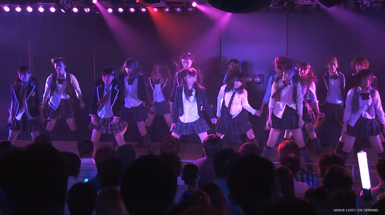 渡辺麻友ツインテール two years later チームB公演 20140905 (23)