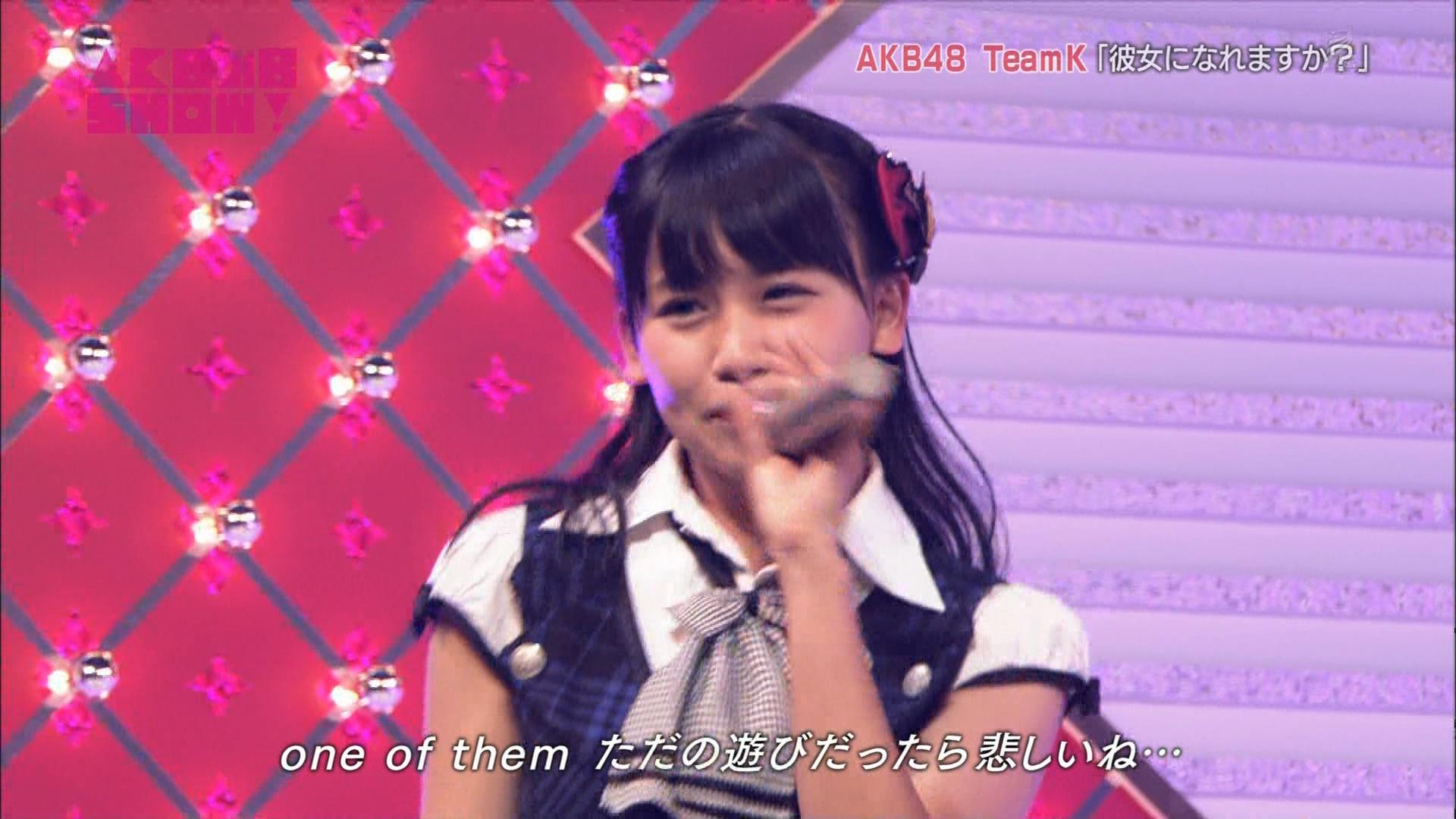 小嶋真子 彼女になれますか AKB48SHOW! 20140906 (21)