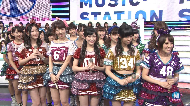 宮脇咲良 AKB48ミュージックステーション Mステ20140926 (9)