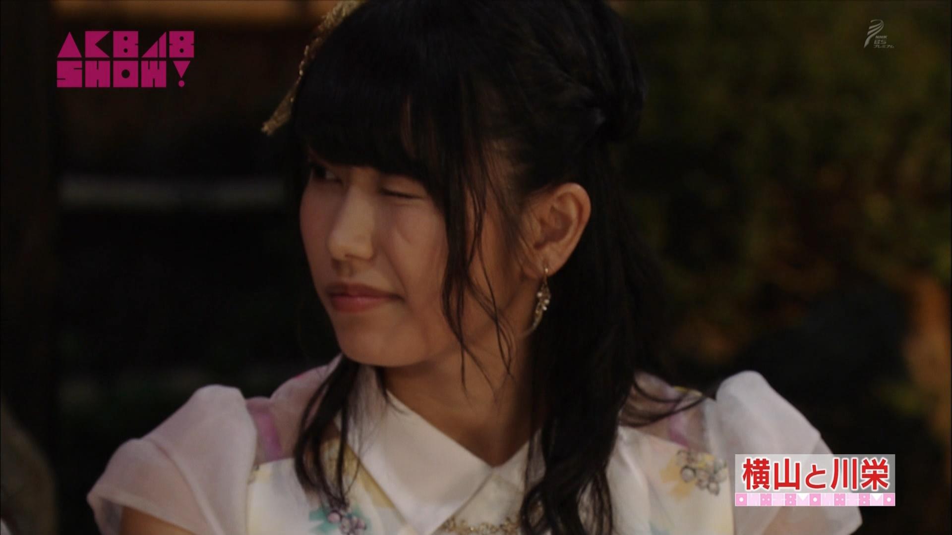 横山由依と川栄李奈 AKB48SHOW! 20140906 (35)