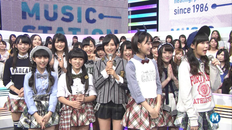 矢吹奈子 ミュージックステーション 控えめI love you 20140905 (15)