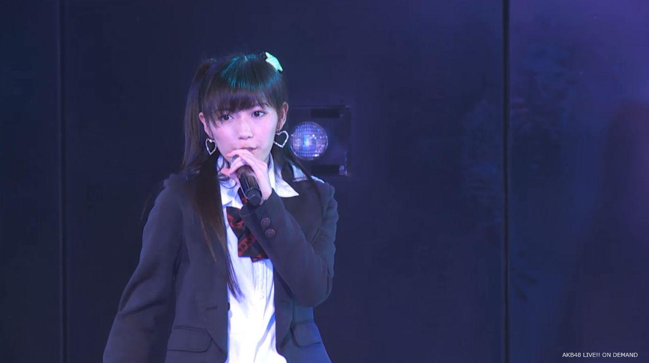 渡辺麻友ツインテール two years later チームB公演 20140905 (4)
