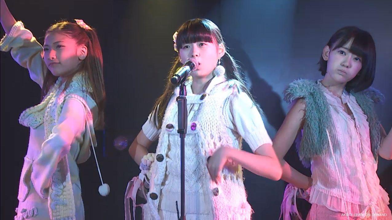 宮脇咲良 ハート型ウィルス AKB48チームA公演20140910 (23)