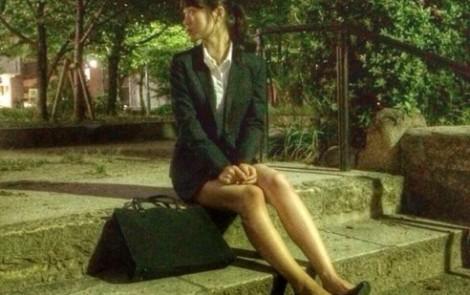 渋谷凪咲 BUBKA リクルートスーツ就活生 オフショット  (3)