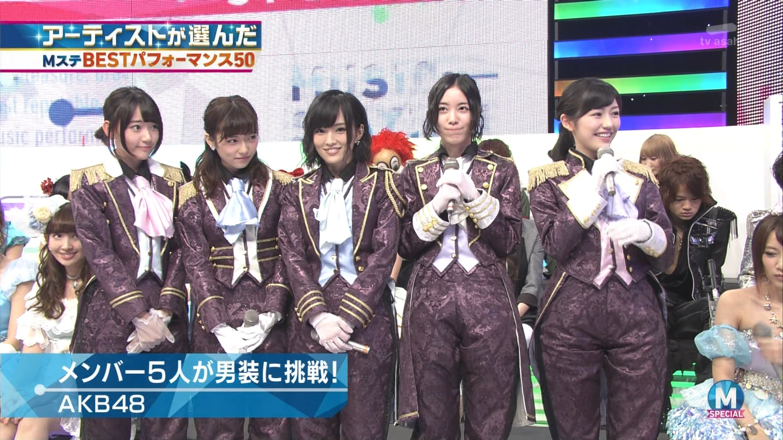 宮脇咲良 AKB48ミュージックステーション Mステ20140926 (22)