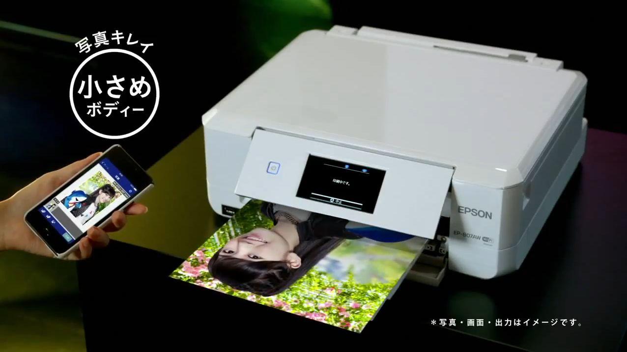 AKB48 渡辺麻友EPSONカラリオCM (8)