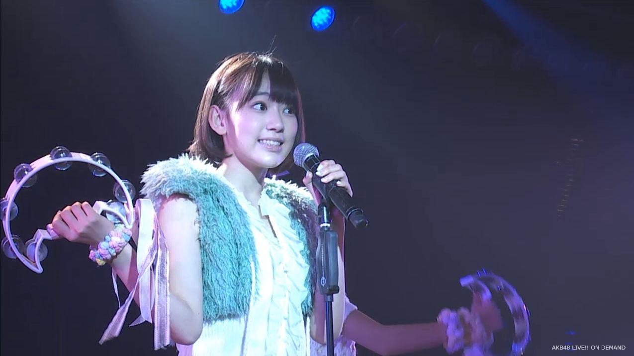 宮脇咲良 ハート型ウィルス AKB48チームA公演20140910 (2)