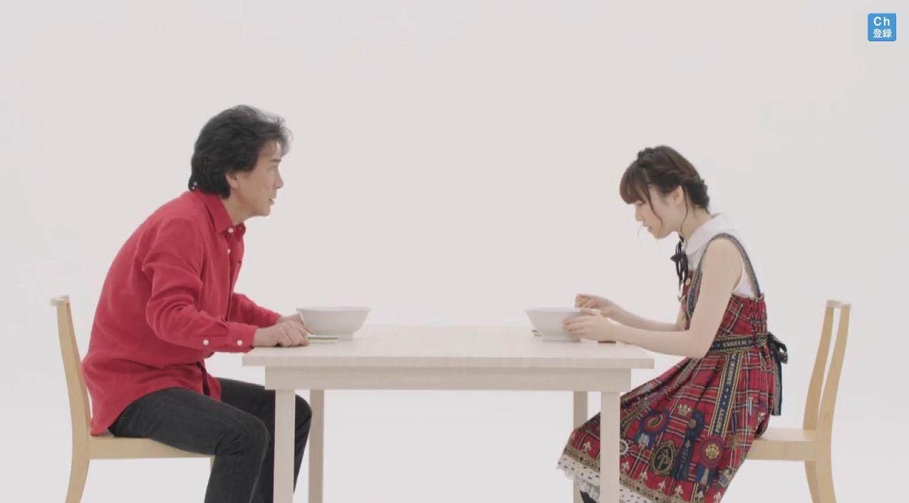 AKB48島崎遥香 マルちゃん正麺 塩味CM (7)