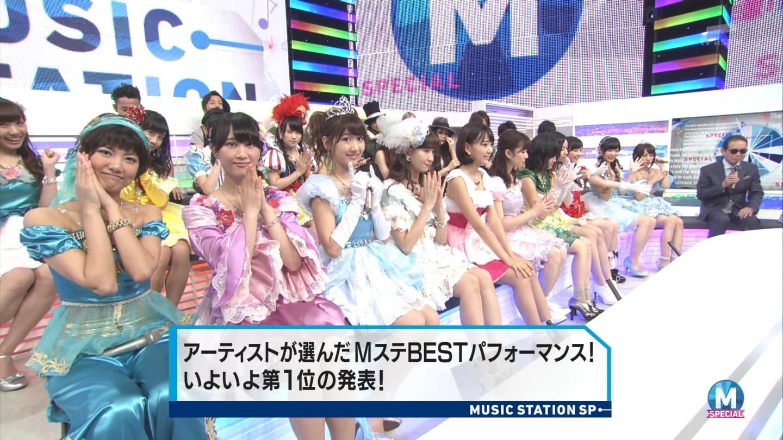 宮脇咲良 AKB48ミュージックステーション Mステ20140926 (91)
