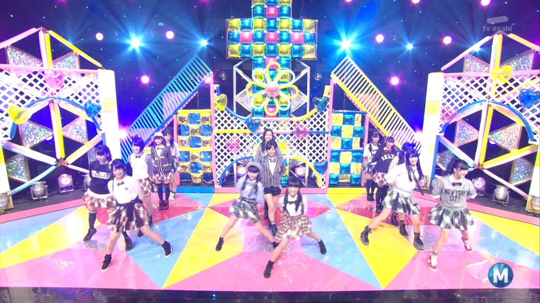 朝長美桜 ミュージックステーション 控えめI love you 20140905 (10)