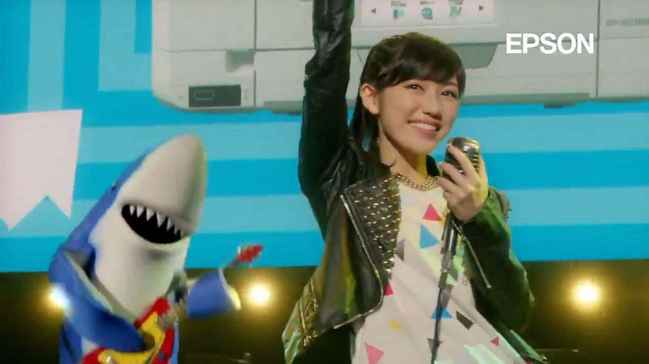 AKB48 渡辺麻友EPSONカラリオCM (1)