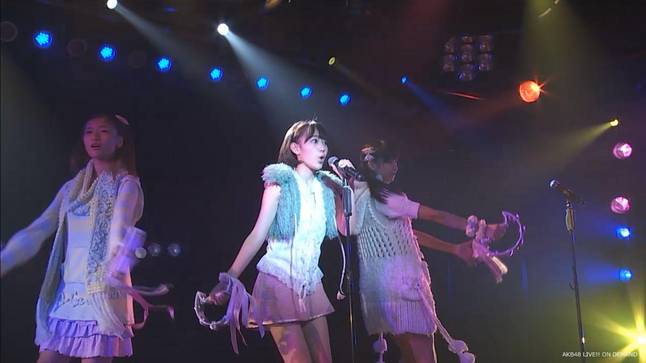 宮脇咲良 ハート型ウィルス AKB48チームA公演20140910 (3)