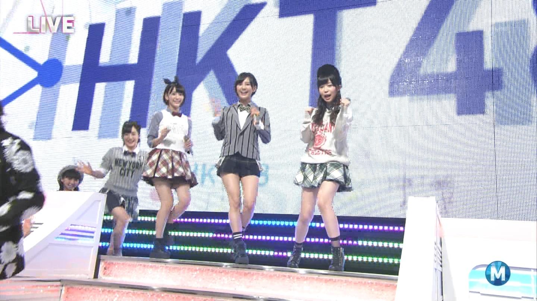 宮脇咲良 ミュージックステーション 控えめI love you 20140905 (1)