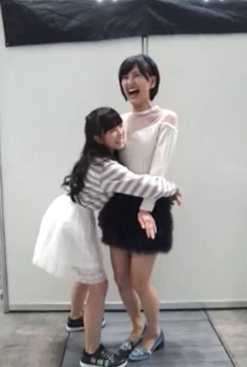 矢吹奈子 兒玉遥 前向き全国握手会 20140923 (3)