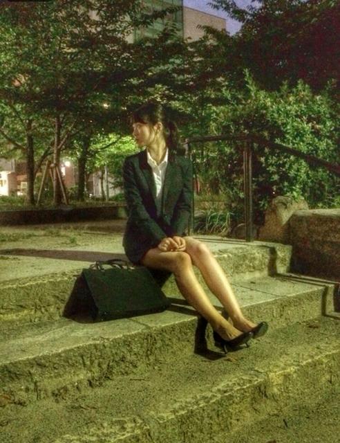 渋谷凪咲 BUBKA リクルートスーツ就活生 オフショット (1)
