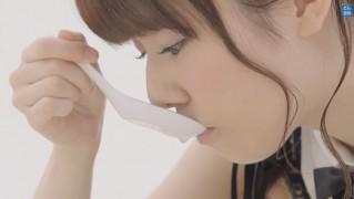 AKB48島崎遥香 マルちゃん正麺 塩味CM (6)