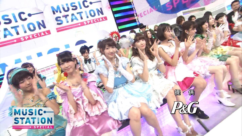 宮脇咲良 AKB48ミュージックステーション Mステ20140926 (85)