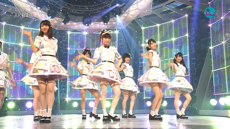 AKB48 心のプラカード MJ 川栄李奈 20140901 (2)