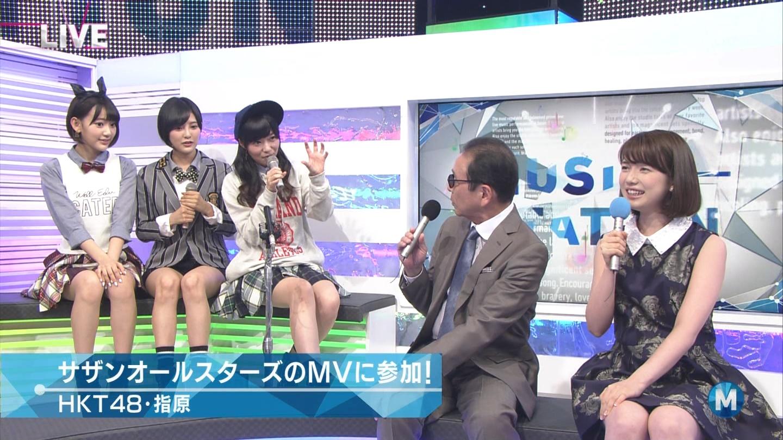 宮脇咲良 ミュージックステーション 控えめI love you 20140905 (30)