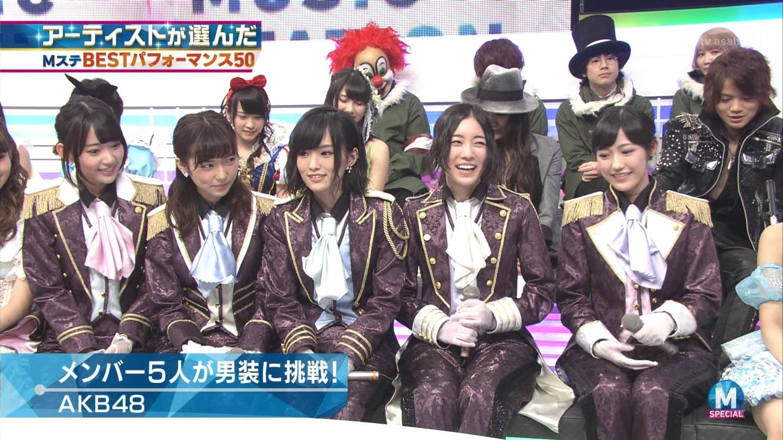 宮脇咲良 AKB48ミュージックステーション Mステ20140926 (24)