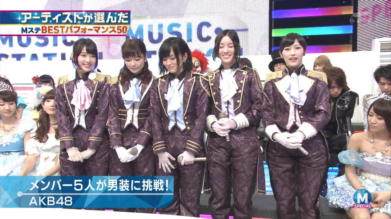 宮脇咲良 AKB48ミュージックステーション Mステ20140926 (17)