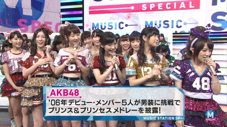 宮脇咲良 AKB48ミュージックステーション Mステ20140926 (6)